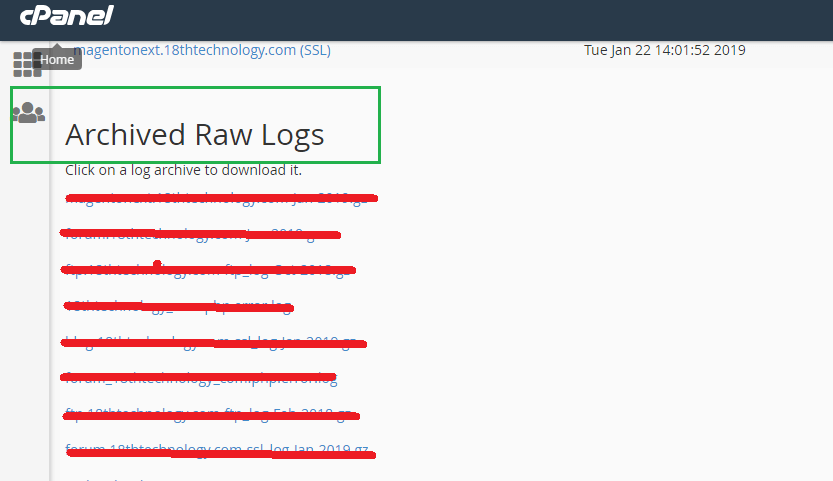 Archive Raw Logs